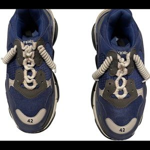 Balenciaga triple s blue man size 9/42 euro w/box